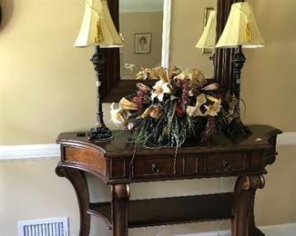 Lovely foyer table
