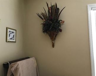 One of a pair of sconces
