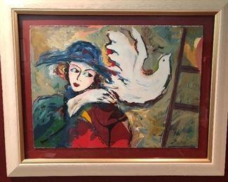 Zamy Steynovitz painting
