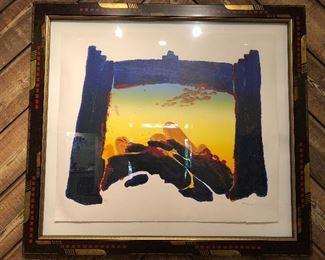 Large Ardyn Halter print in very fine frame