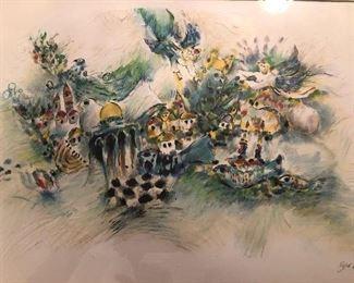 Ben Avram painting