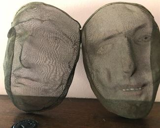 Antique wire mesh faces