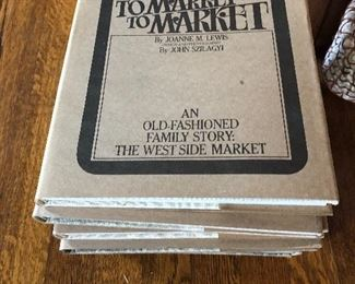 Book written by our client on the Westside Market