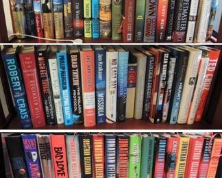 Hardbound books - first editions