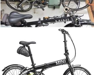 two (2) Mini Cooper Folding Bikes - available for immediate purchase
