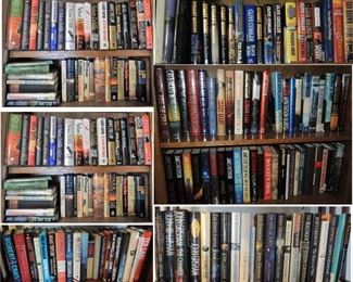 Large collection of first edition books