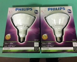 KHH010 Two Phillips LED X Floodlights