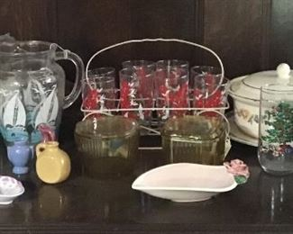 Vintage and antique dishes