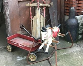 Antique and vintage children's toys
