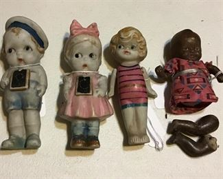 Antique Kewpie dolls