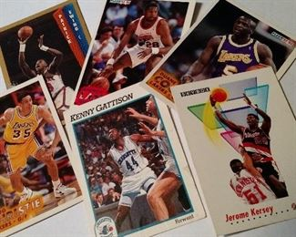 Large Selection of Basketball Cards