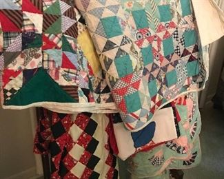 Beautiful handmade quilts!
