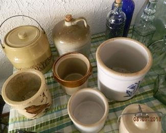 crocks and jugs