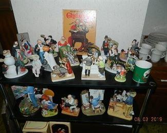 Norman Rockwell figures