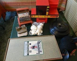 vintage toys/LPs