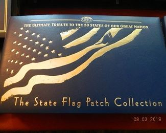 State flag patch collection