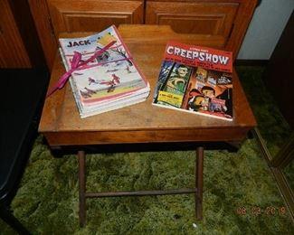 desk/Jack and Jill magazines