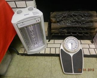 heater and scale