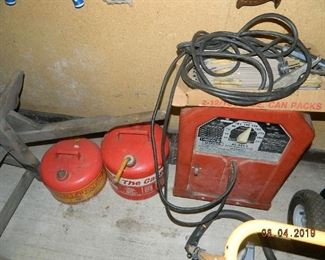 gas cans/welding