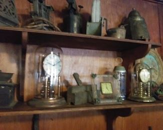 Old tools, toasters and clocks