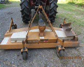 """Woods Finish Mower RM660 72"""""""