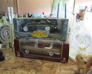 Collectible metal cars