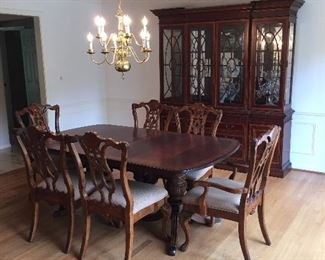 Dinning room table chairs & China Cabinet