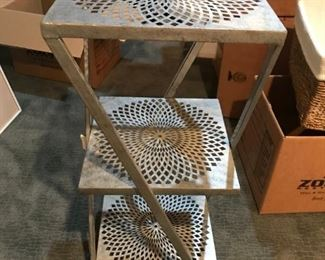 antique metal table
