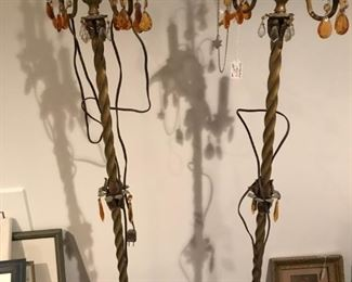 antique lamps circa 1920s