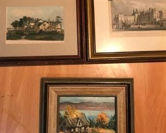 LOTS of art work; some signed and dated information