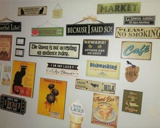 Wall Sign Collection