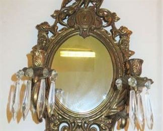 American Eagle Wall Sconce Mirror