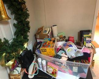 So much basement stuff!