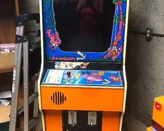 Vintage arcade game.