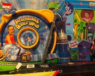 Incredible bubble wand. I may just set this up and play with it DURING the sale