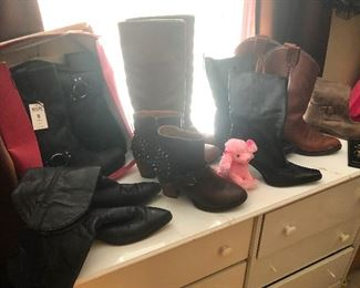 BOOTS and SHOES