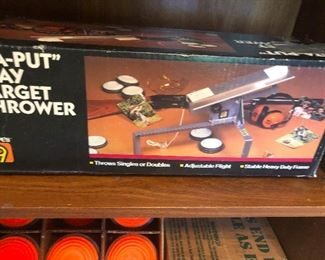 Thing that is probably dangerous you need this! Skeet shooting!