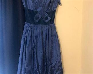 Eighties dress needs a hem
