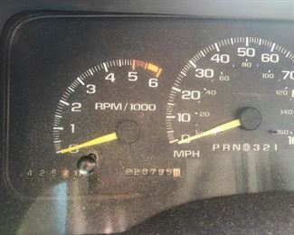 See that mileage? Good, because I can't.