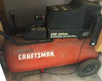 Craftsman 25gal. air compressor -- get this one too you need a backup