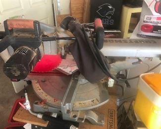 Miter saw! (I add the exclamation point because I love power saws of all kinds)