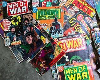 Men of War comic books (predictable)