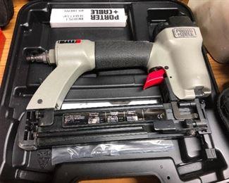 Porter Cable nail gun!