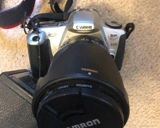 Canon rebel with tamron lense