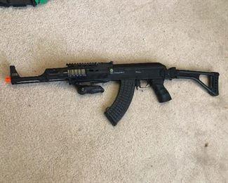 me, not a gun person
