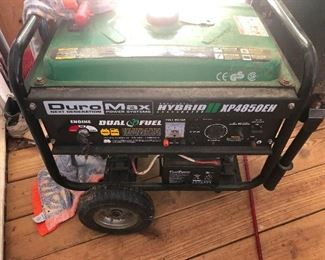 ANOTHER generator! Duromax Dual Fuel Hybrid!