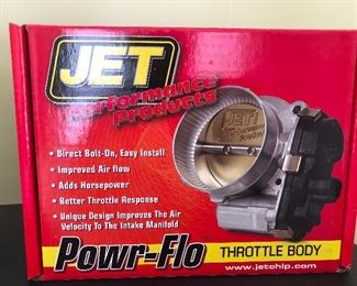 Jet Performance Products Powr-Flo Throttle Body!!!! (Sounds like the name of a professional wrestler)