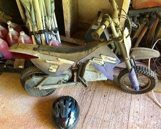 Razor MX350, very dusty!