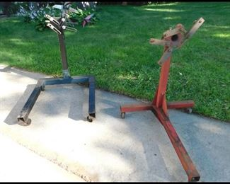 Two Motor Stands.