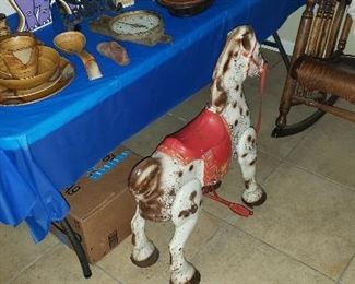 Antique Mobo hobby horse